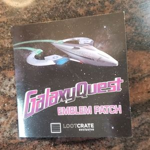 Loot Crate Exclusive Galaxy Quest Emblem Patch